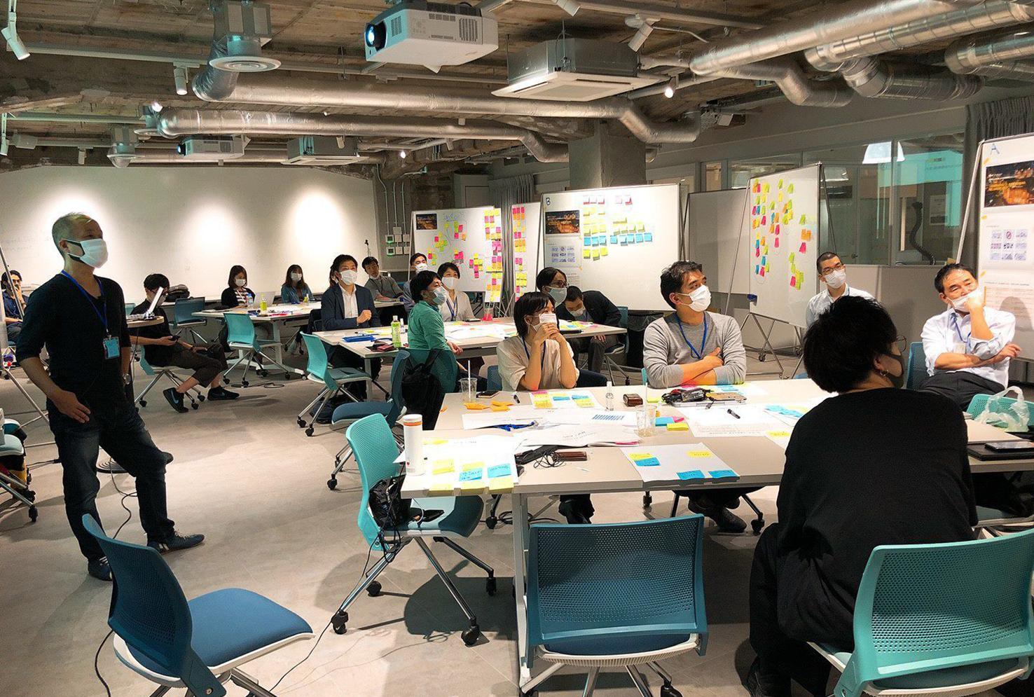 デザイン思考をベースとしたワークショップ